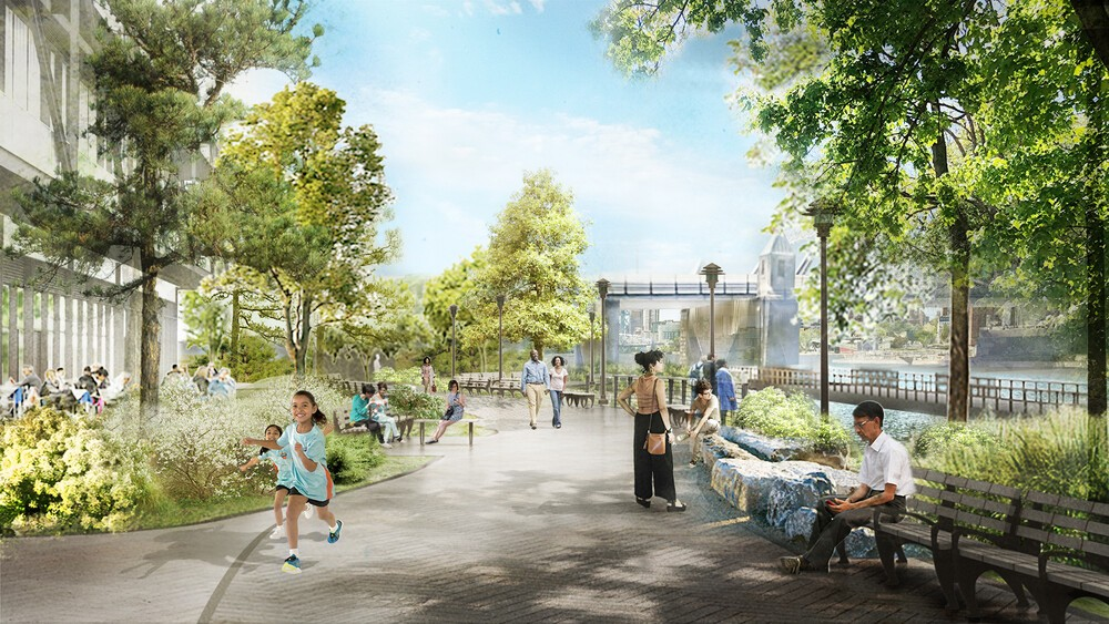 BP Perspective-Waterfront Promenade · Designing for a Resilient Future