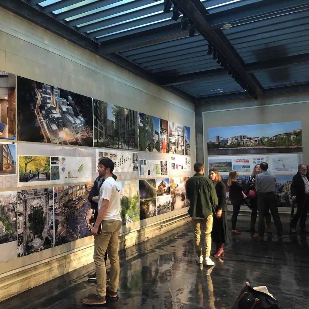 Miami-Ohio Exhibit · City in the building - building in the city