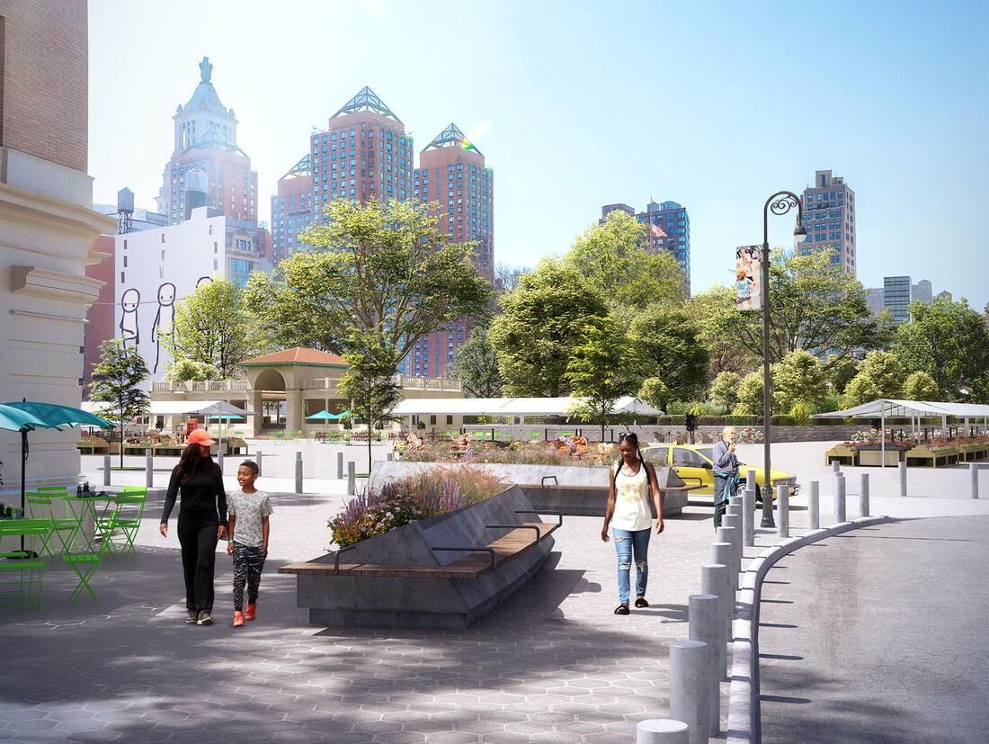 The Broadway Gateway Plaza