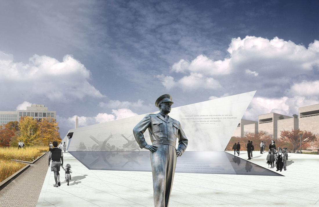 Eisenhower Memorial Marvel_WW2