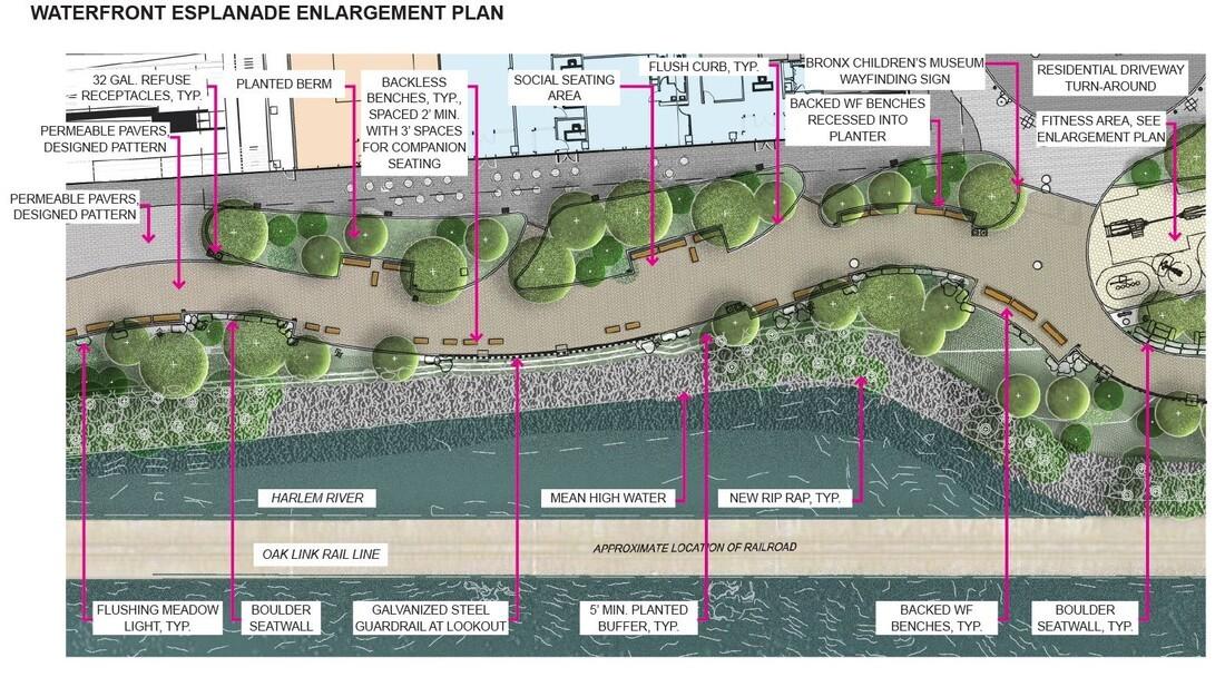 Enlargement Esplanade Plan