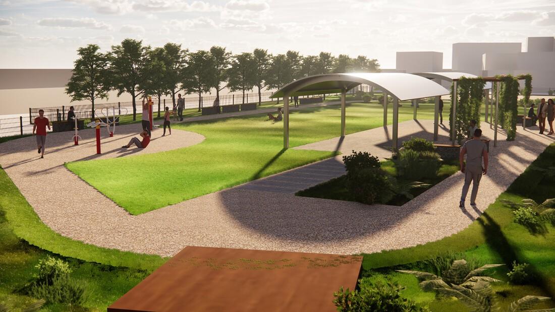 Lanscape Design Buena Vista Perspective 5 PM