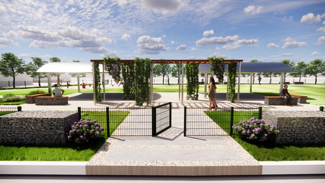 Lanscape Design Buena Vista Perspective 1 AM