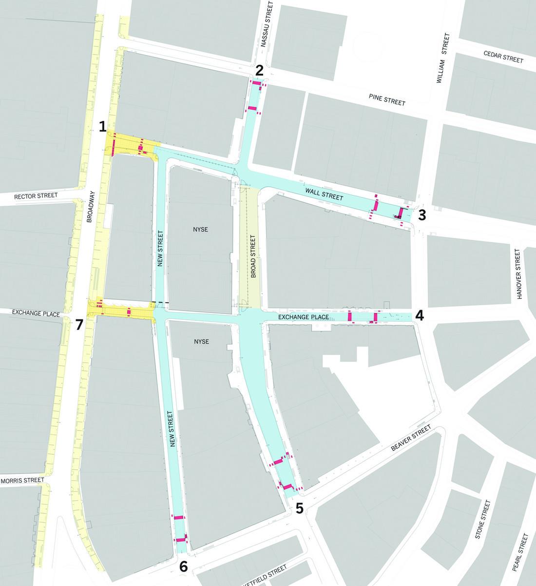 NYSE Site Plan 2004 District Improvements