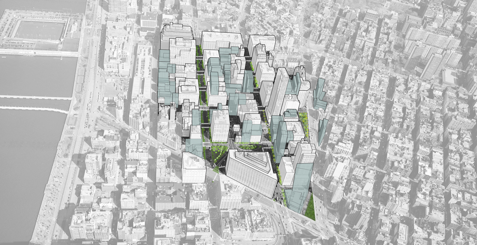 Hudson Square Streetscapes Plan