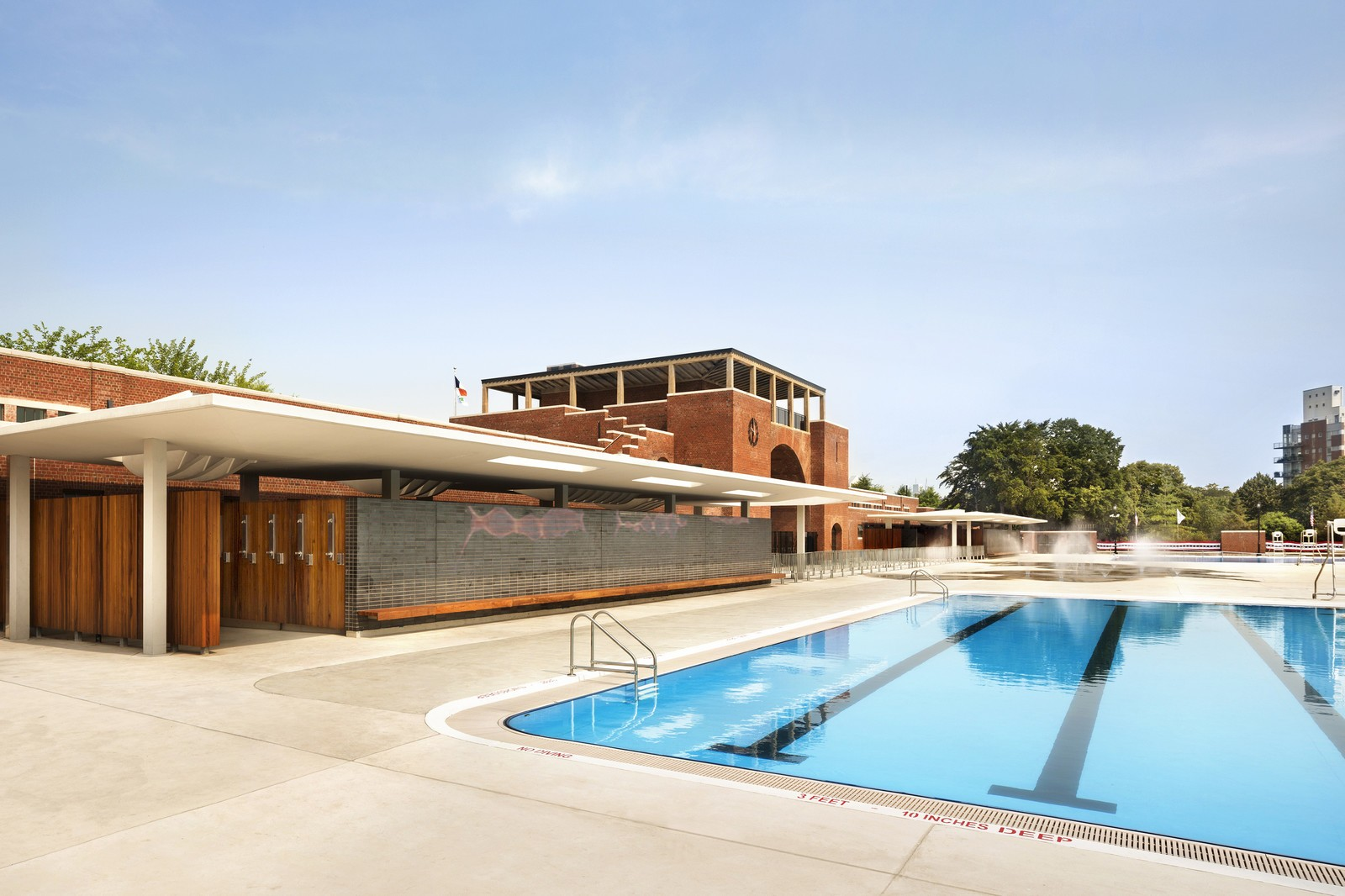 McCarren Pool and Bathhouse