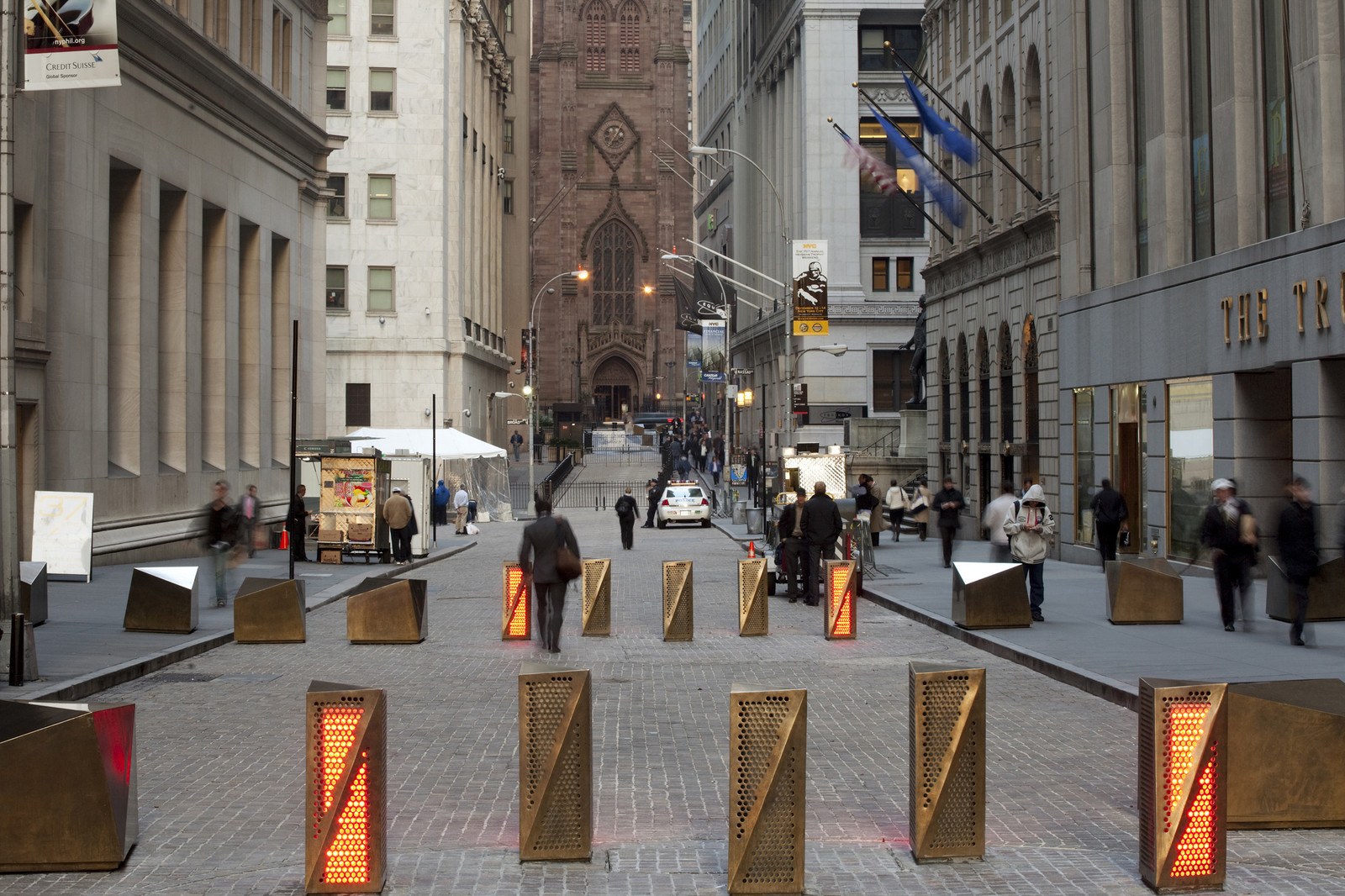 Financial District Streetscapes and Security