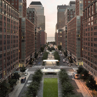 Battery Park City Streetscapes and Security