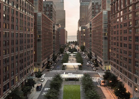 Battery Park City Streetscape and Security