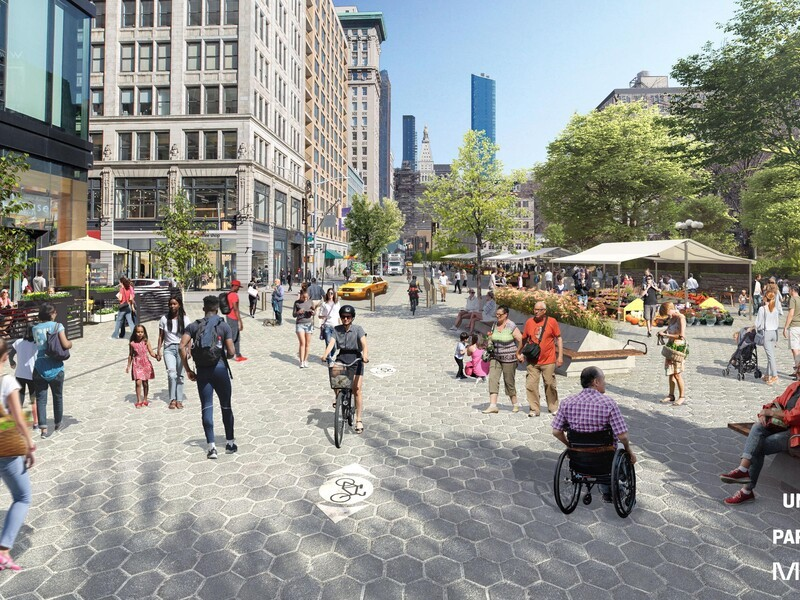Travel + Leisure Feature: New York City's Union Square Getting $100 Million Pedestrian-friendly Makeover